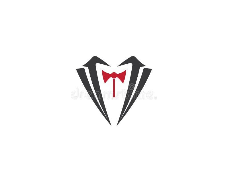 Molde do logotipo da roupa ilustração do vetor