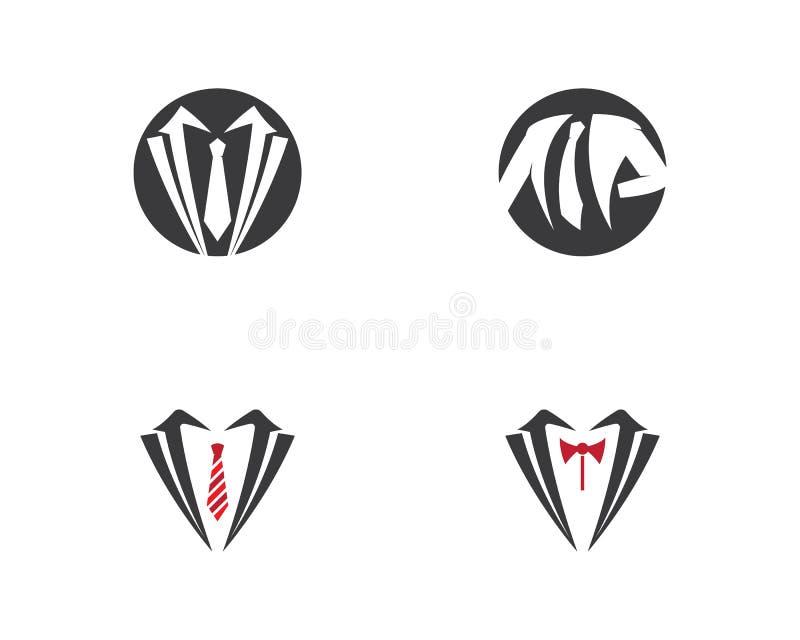 Molde do logotipo da roupa ilustração stock