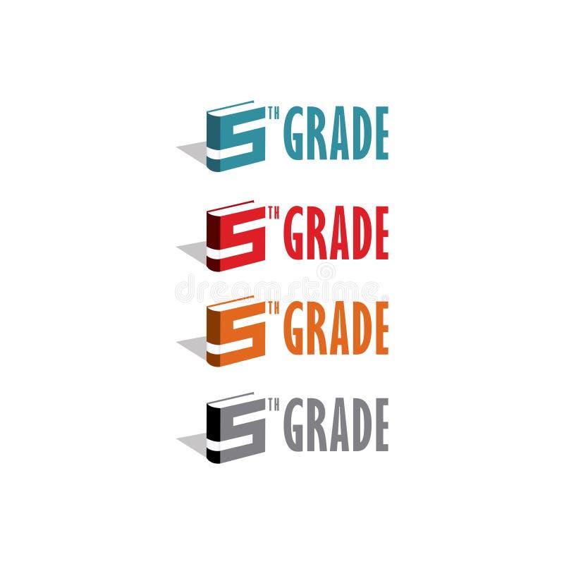 Molde do logotipo dos grupos dos livros ilustração stock