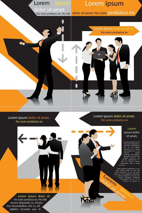 Molde do negócio ilustração do vetor