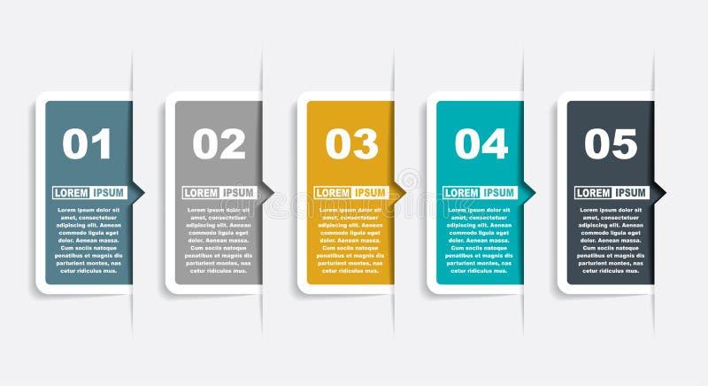 Molde do projeto de Infographic com lugar para seus dados Ilustra??o do vetor ilustração do vetor