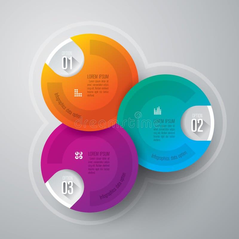 Molde do projeto de Infographics ilustração do vetor