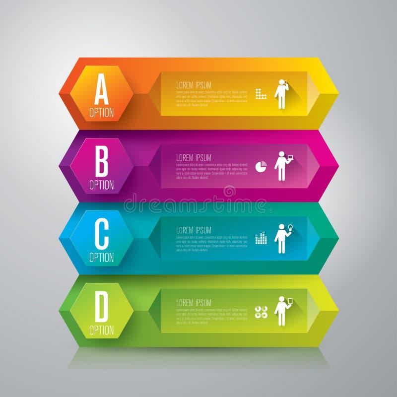 Molde do projeto de Infographics ilustração royalty free