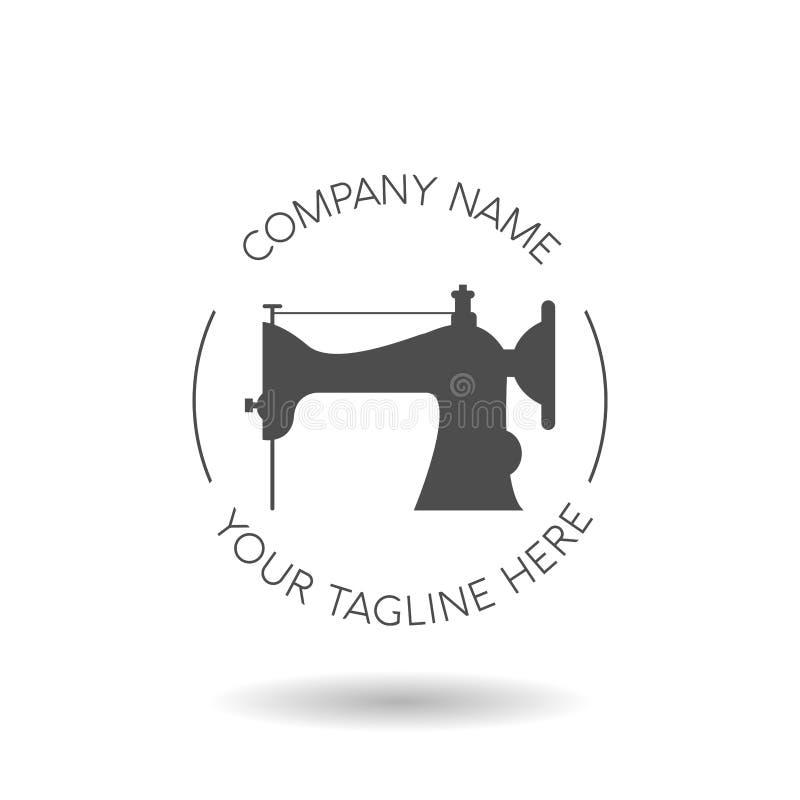 molde do projeto do logotipo de taylor ilustração royalty free