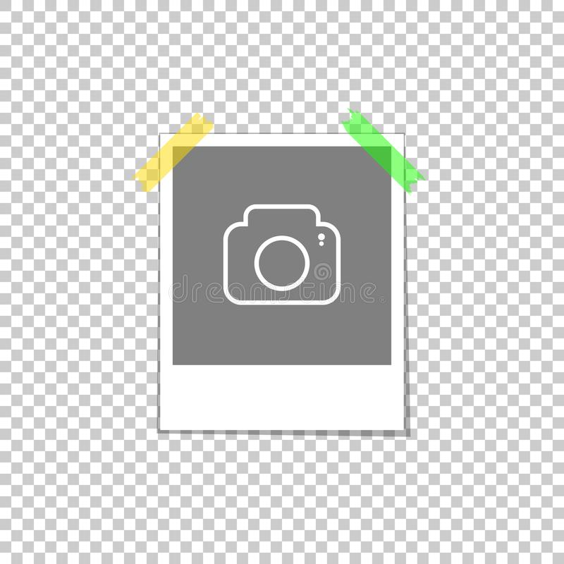 Molde do quadro da foto ilustração stock