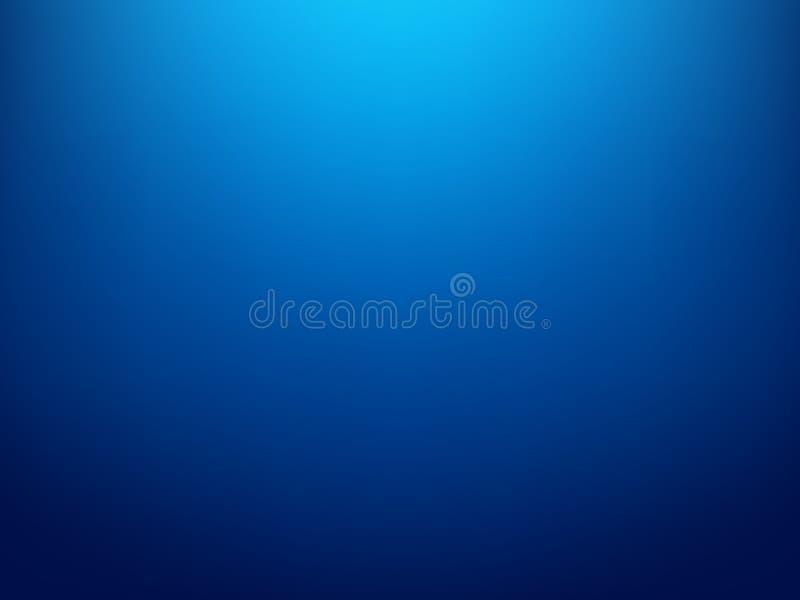 Molde do Web site do inclinação, encabeçamento da bandeira ou gráfico liso de incandescência do sidebar, fundo abstrato azul borr ilustração do vetor