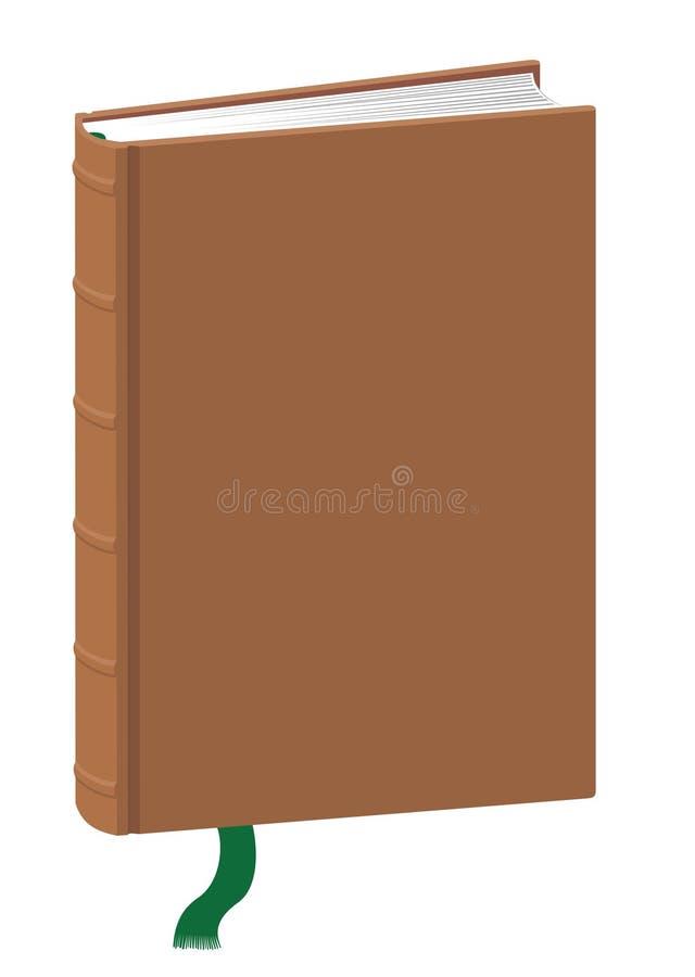 Molde ereto do livro ilustração do vetor