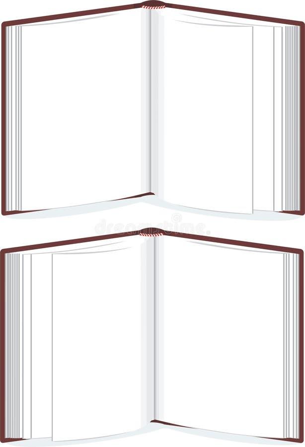 Molde ereto do livro ilustração royalty free