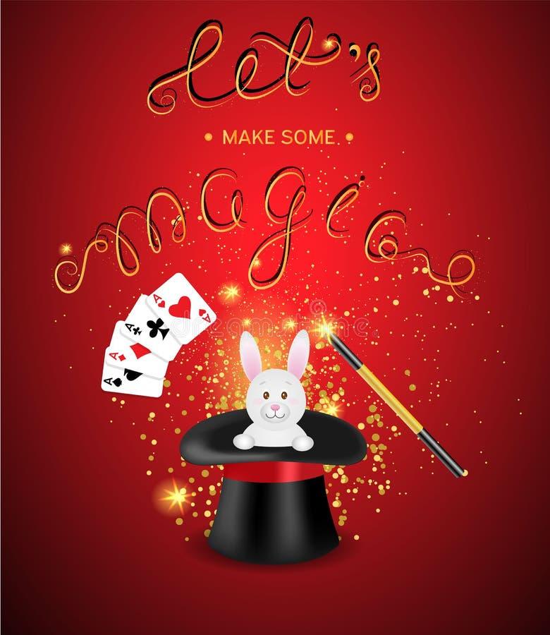 Molde mágico da mostra ilustração royalty free