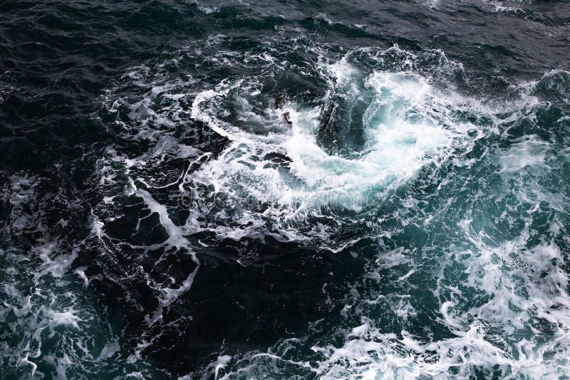 Molde marinho da bandeira do curso foto de stock