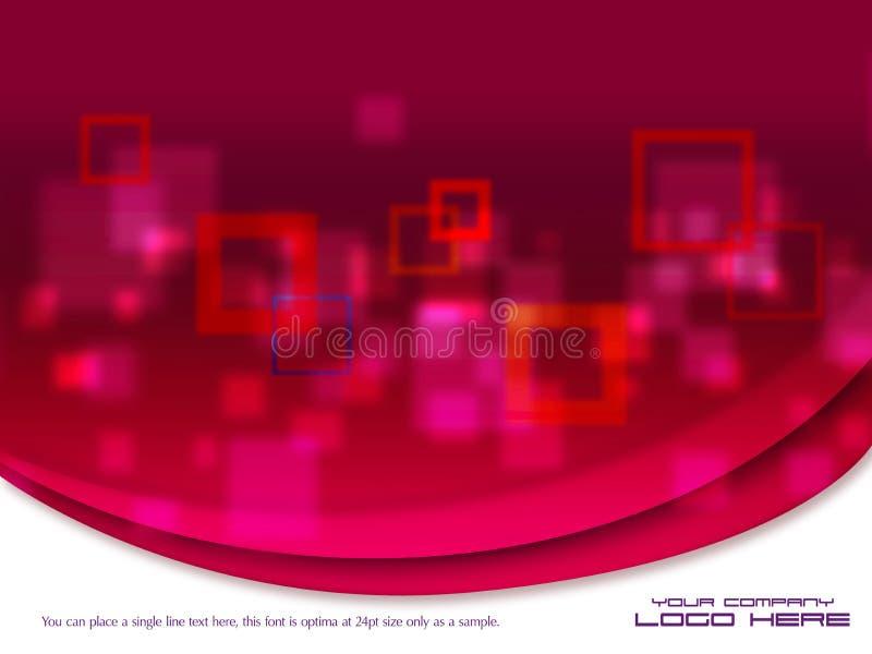Molde moderno bonito do projeto gráfico ilustração stock