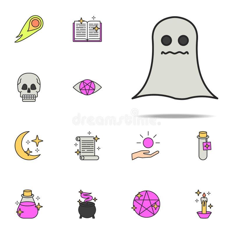 molde o ícone grupo universal dos ícones mágicos para a Web e o móbil ilustração royalty free