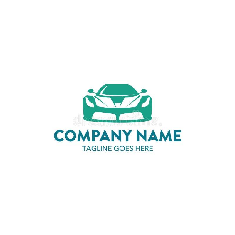 Molde original do logotipo do carro Vetor editable ilustração royalty free
