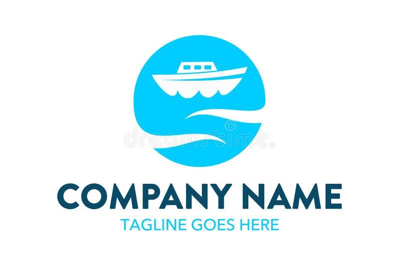Molde original do logotipo do curso e do hotel Vetor editable ilustração stock
