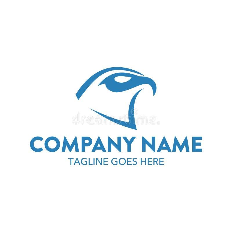 Molde original do logotipo da águia Vetor editable ilustração do vetor