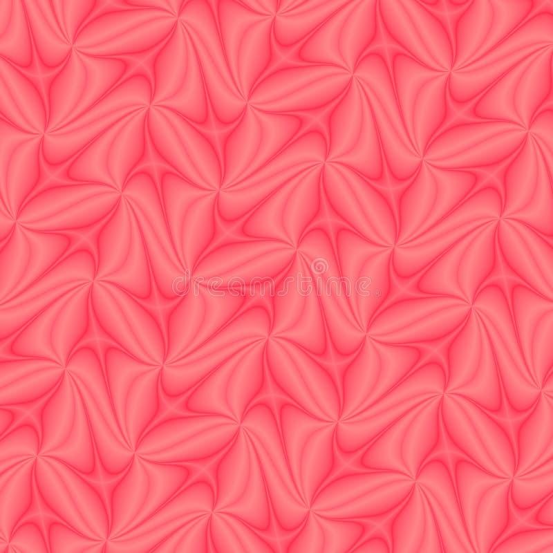 Molde ou papel de parede abstrato de seda alaranjado do projeto do fundo ilustração do vetor