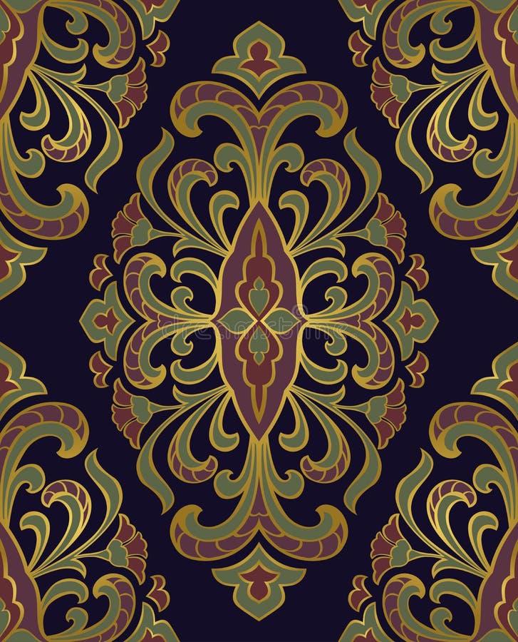 Molde para o tapete oriental ilustração royalty free