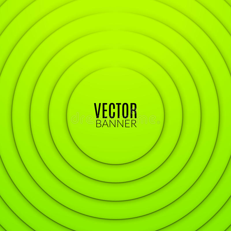 Molde redondo do projeto da onda do círculo abstrato Disposição colorida do redemoinho ilustração stock
