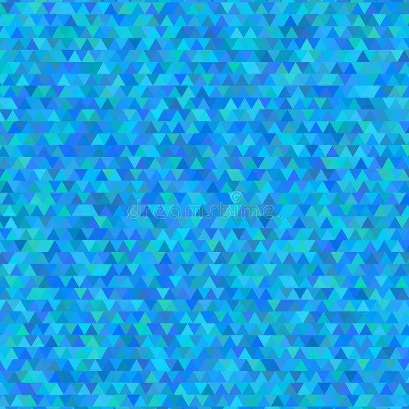 Molde triangular multicolorido claro ilustração stock
