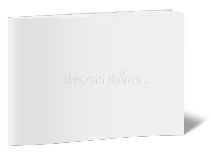 Molde vertical vazio do livro fotos de stock