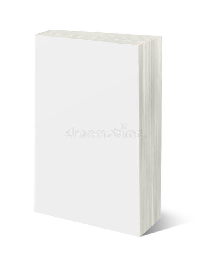 Molde vertical vazio do livro imagens de stock royalty free