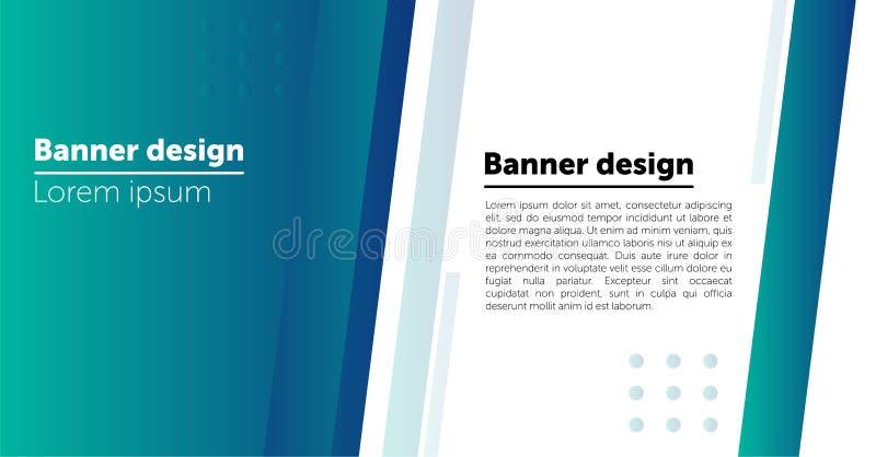 Moldes abstratos do fundo ou do encabe?amento do projeto da bandeira da Web ilustração stock