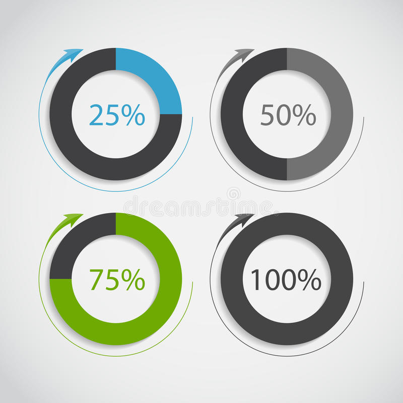 Moldes de Infographic para o vetor do negócio ilustração do vetor