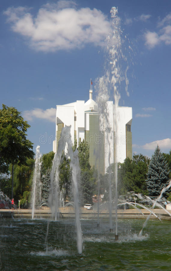 Moldova, Chisinau/Kishinev, Presidential Palace stock photos