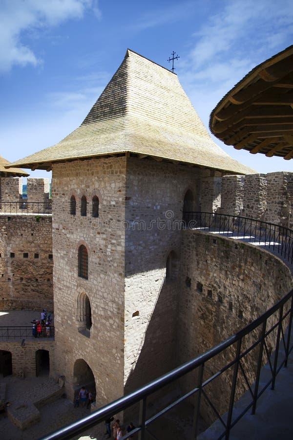 Moldova, Fort in Soroca royalty free stock photo
