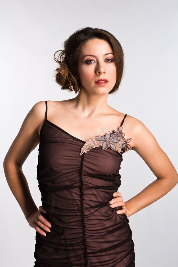Moldovan woman stock photo. Image of brassiere, panties