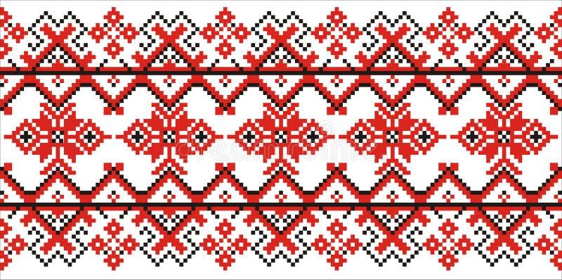 Moldovian tradycyjny wzór ilustracji