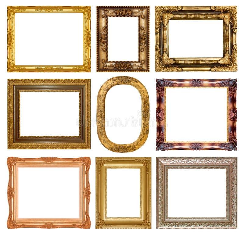 Moldura para retrato fotos de stock royalty free