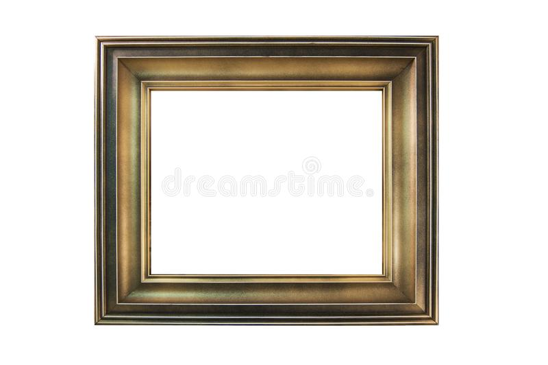 Moldura para retrato pintada de madeira fotos de stock royalty free