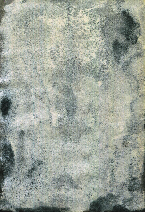 Moldy old watercolour paper texture royalty free stock photos