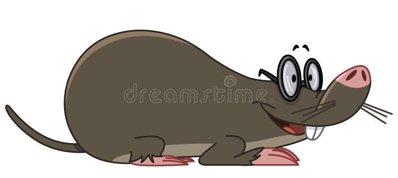 Mole vector illustration