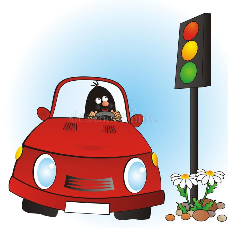 Download Mole and car stock illustration. Image of picture, buggy - 32088994