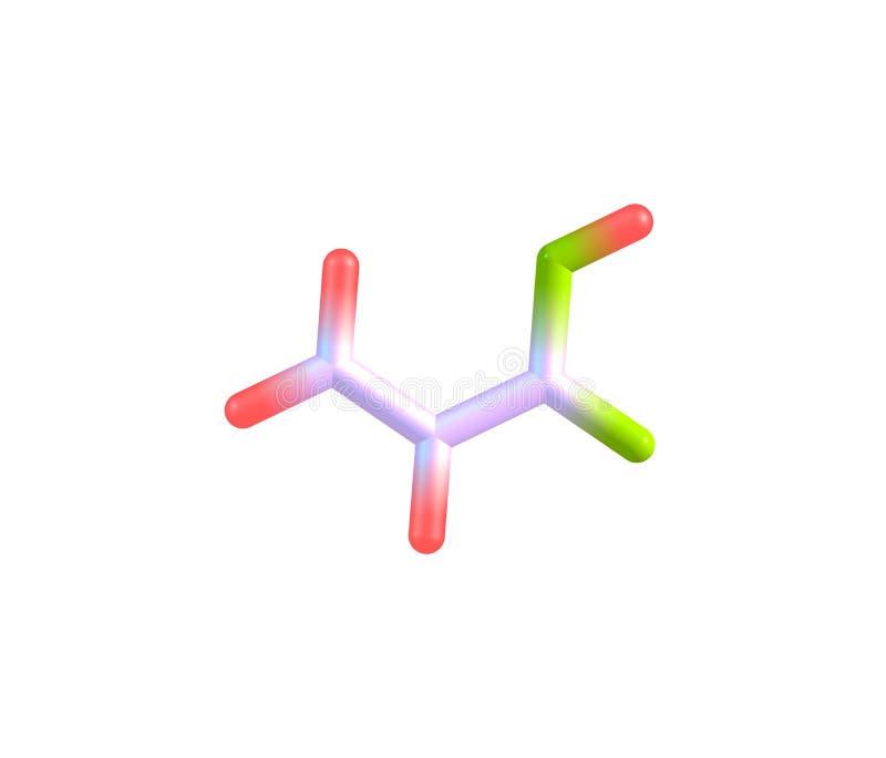 Download Molecola Dell'acido Acrilico Isolata Su Bianco Illustrazione di Stock - Illustrazione di elettroliti, plastica: 56886881