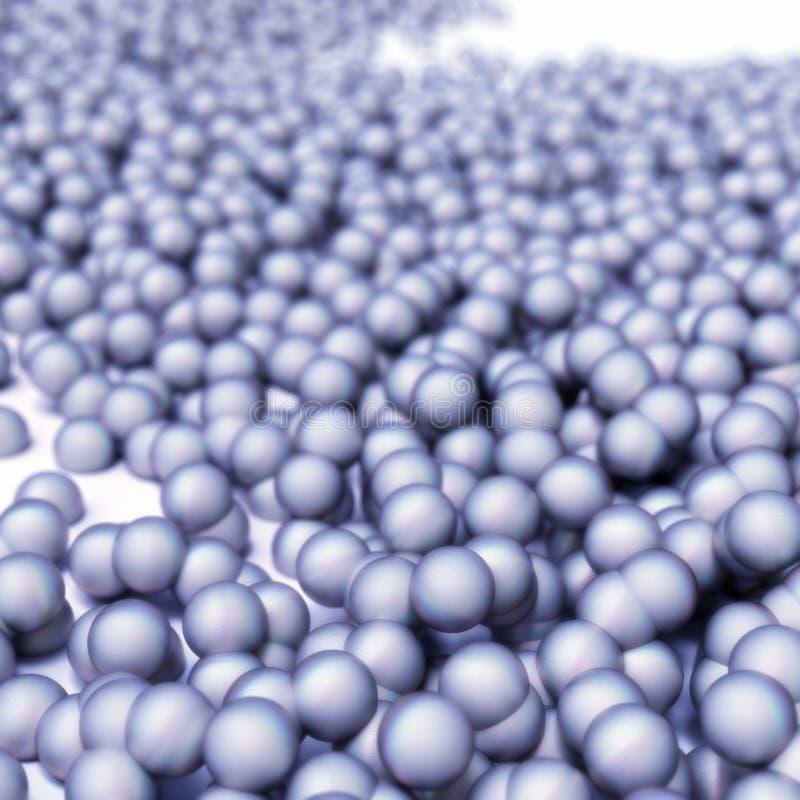 Molecole astratte immagini stock libere da diritti