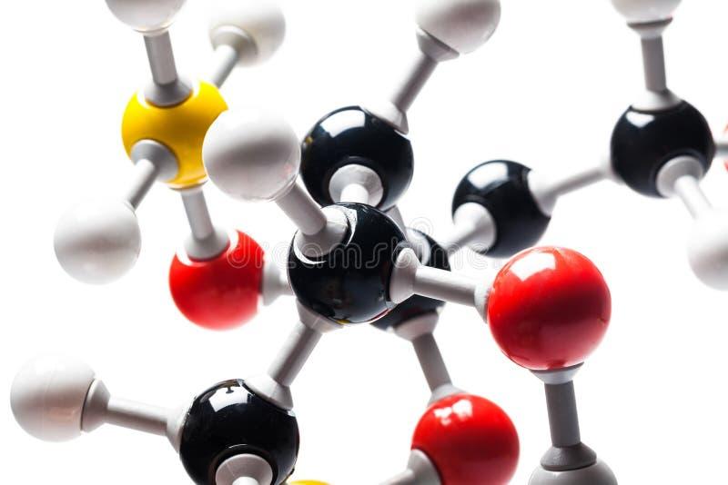 Moleculair Model stock afbeeldingen