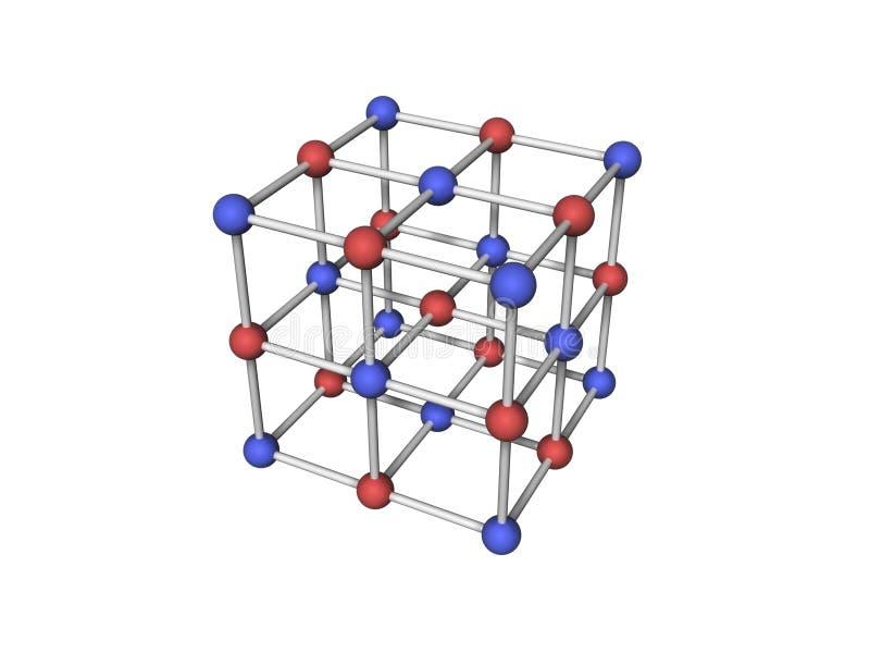 Moleculaire structuur vector illustratie