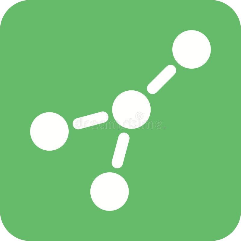 Moleculaire Structuur I stock illustratie