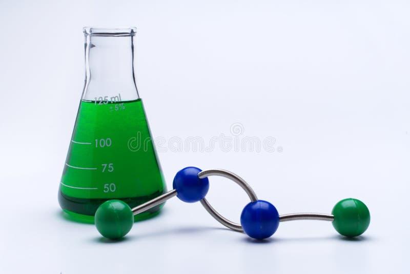 Moleculaire Wetenschap royalty-vrije stock afbeeldingen