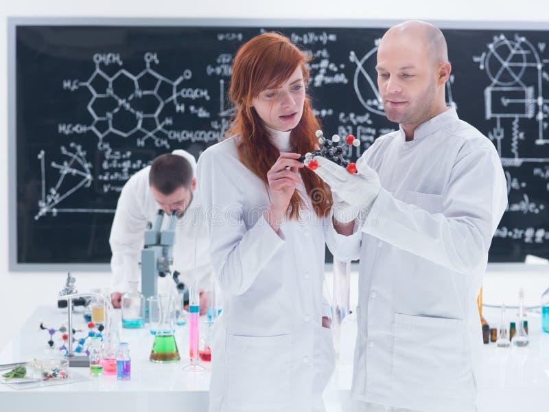 Molecular Laboratory Analysis Stock Photos