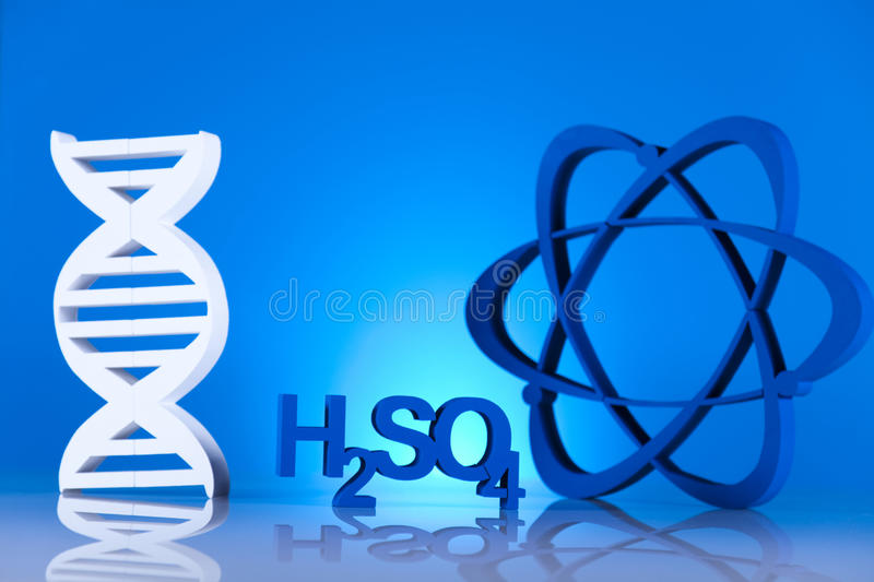 Molecular Model, atom stock images