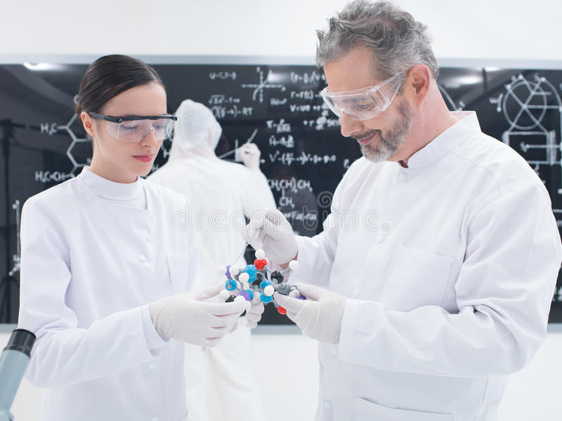 Download Molecular Structure Analysis Stock Photo - Image: 31258452
