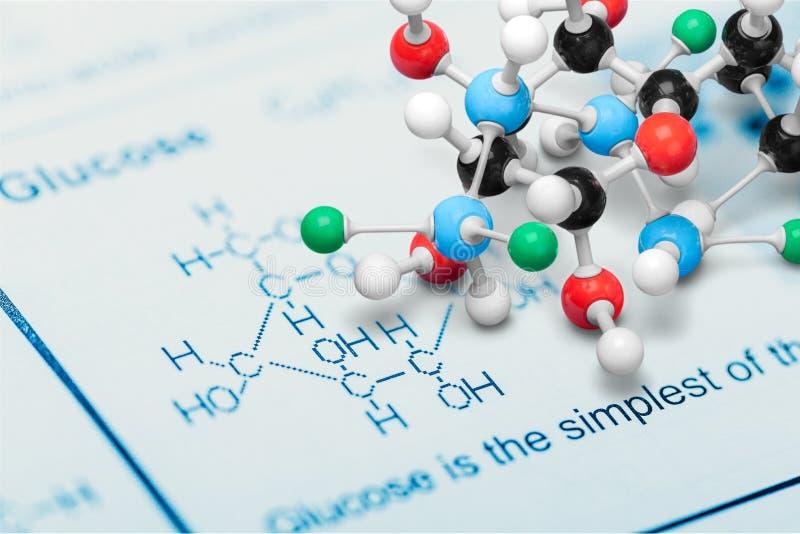 molecule stock afbeelding