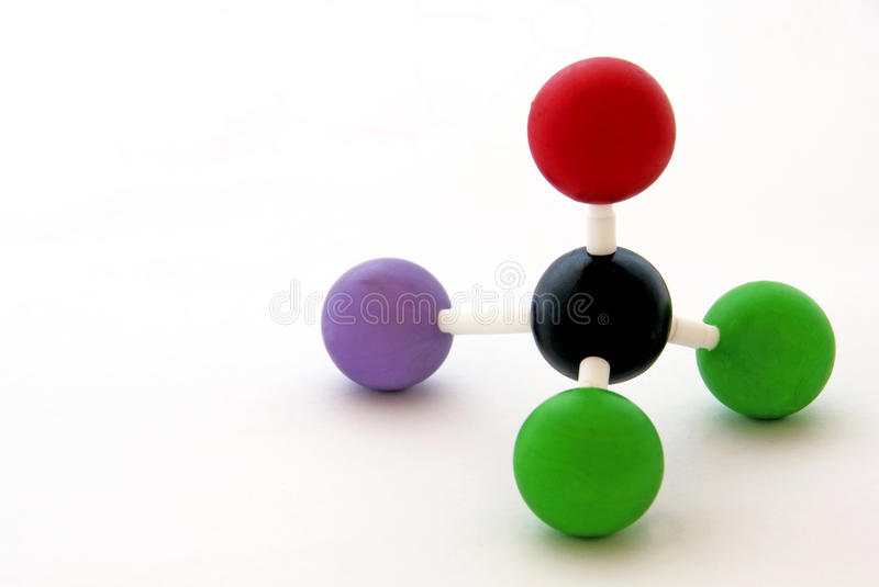 Molecule royalty free stock image