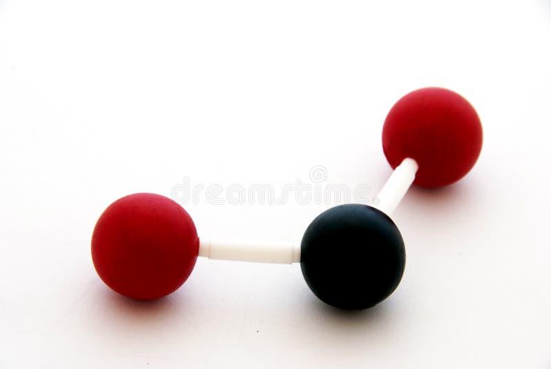Molecule royalty-vrije stock afbeelding