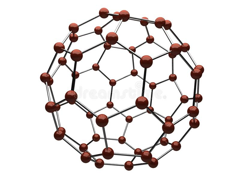 Download Molecule stock illustration. Image of render, matrix - 17035912