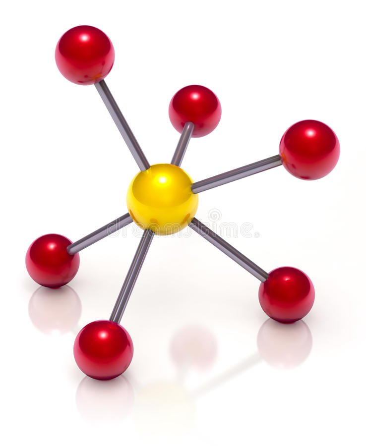 Download Molecule stock illustration. Image of science, electron - 20081167